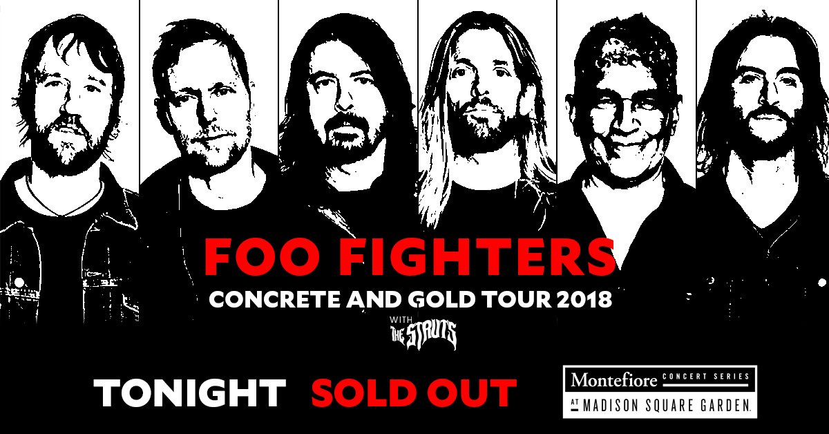 Msg thegarden twitter - Foo fighters madison square garden ...