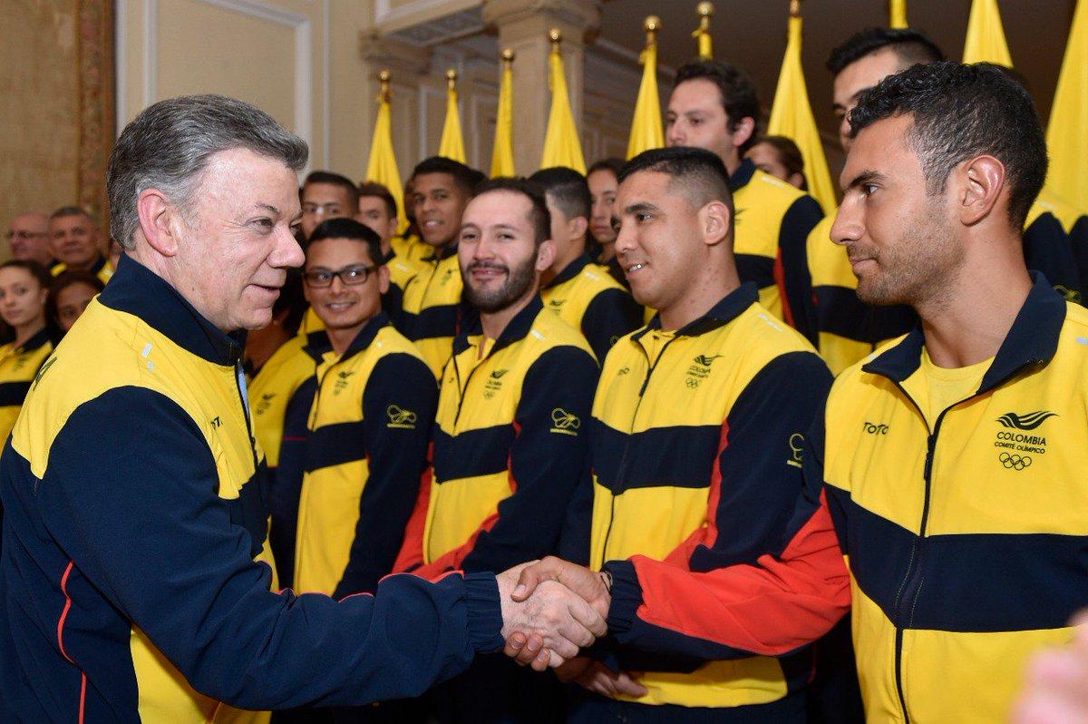 #Barranquilla2018 tendrá las mejores instalaciones para los Centroamericanos y del Caribe. Y lo más importante: los mejores atletas. Gracias por hacer de Colombia una potencia deportiva, una fábrica de campeones.