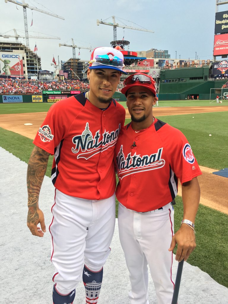 A Family Affair: Gadiel, Javy Báez's brother, will be his pitcher during the Home Run Derby tonight. https://t.co/zXACnecQXk