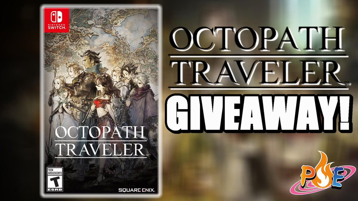So did you guys know that I&#39;m giving away a free copy of OCTOPATH TRAVELER on the Nintendo Switch!? Plus we got new info on the Final Fantasy XIV x Monster Hunter collaboration!   Link to giveaway -----&gt;  https:// gleam.io/hScvx/octopath -traveler-giveaway &nbsp; …  Watch the video here -----&gt;  https://www. youtube.com/watch?v=dTQh15 jY8OI &nbsp; … <br>http://pic.twitter.com/qs0mYlXrVi