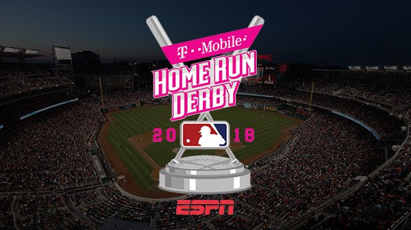 More dingers per hour than anywhere on Earth, guaranteed: Check out the @TMobile #HRDerby on @ESPN at 8/7c.