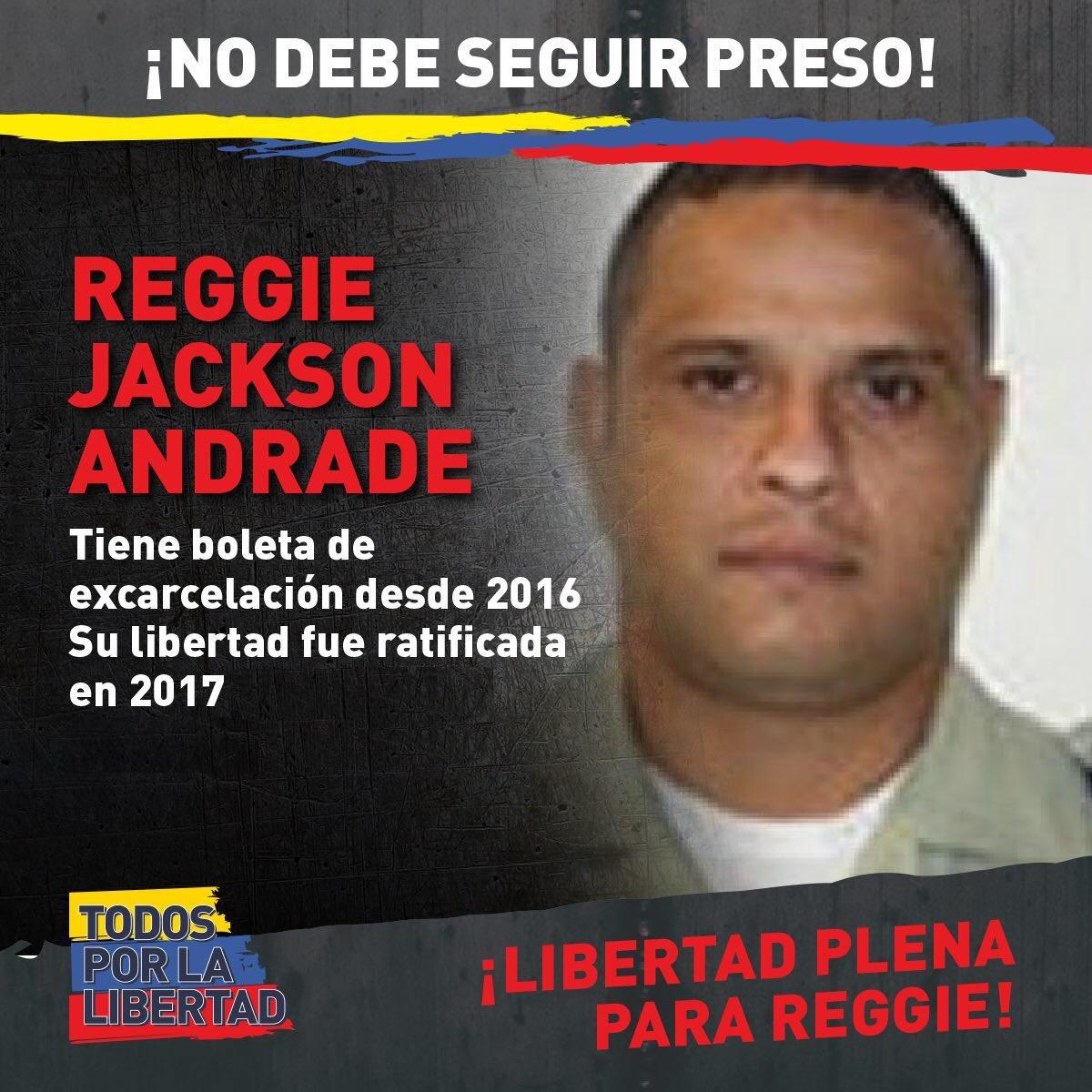 Fred Mavares y Reggie Andrade tienen 2 años con boleta de excarcelación pero siguen detenidos y fueron llevados a la cárcel 26 de Julio. Ellos son policías de Chacao honestos, no delincuentes ¡Exigimos justicia y libertad! #LiberenALosPolicías