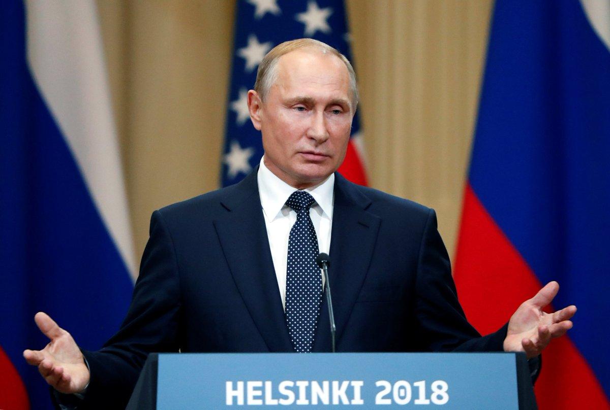 Путин заявил, что Россия «крайне негативно» отнеслась бы к вступлению Грузии и Украины в НАТО https://t.co/OKWrHsjCWN
