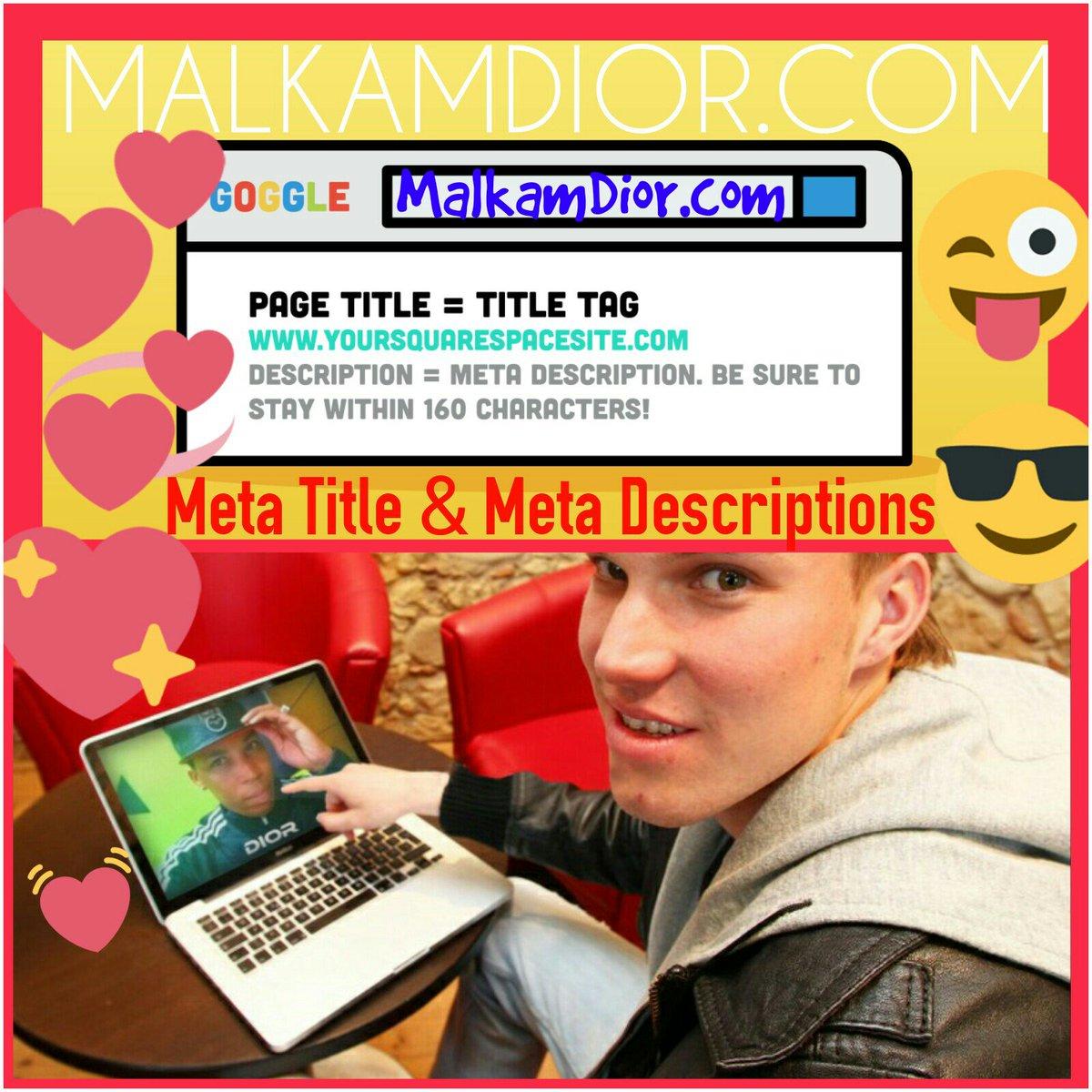 Top Trends in Meta Title and Meta Description this Season -  http://www. MalkamDior.com  &nbsp;     #HOWTO #tipsandtricks #SEOTalk #MetaDescription#MetaTitle #seo #Networkmarketing #PrimeDay  #MondayMotivation #marketing #ContentChat #GoogleEDU #SMM<br>http://pic.twitter.com/SbO9OoUFkc &ndash; à Google Creative Lab