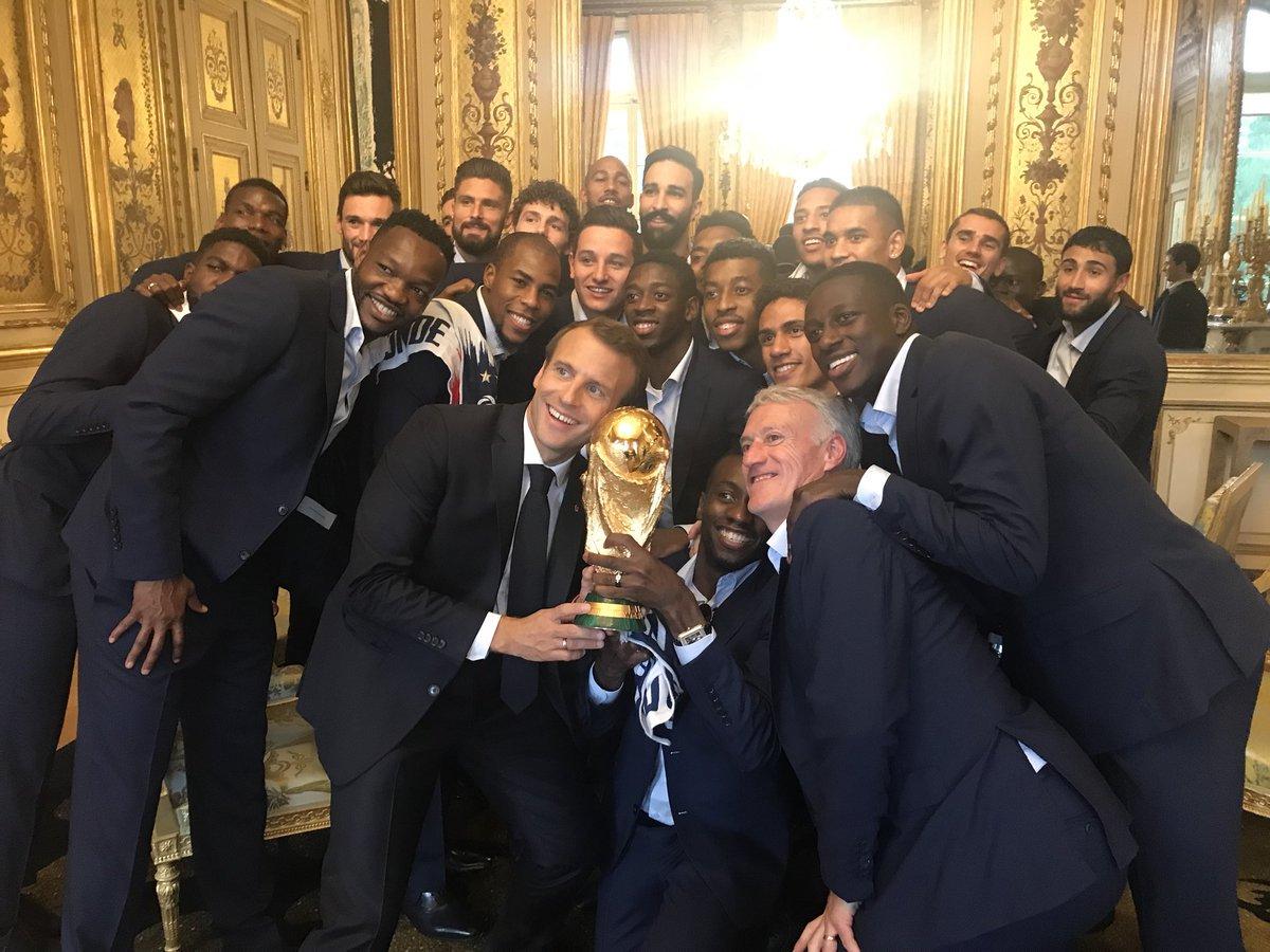One team, one nation, one dream.  Two stars⭐⭐  #FiersdEtreBleus
