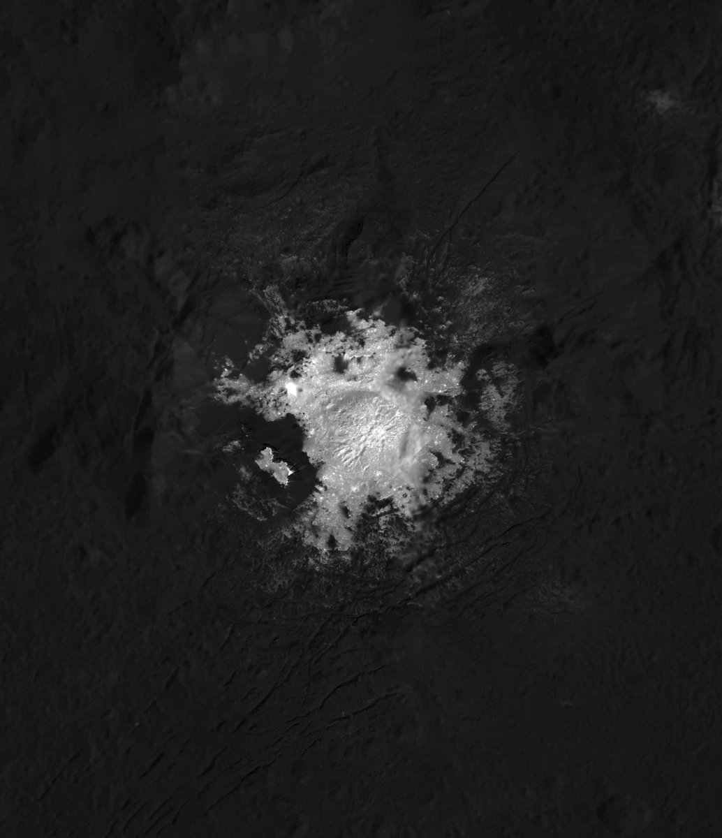 As the mission comes to a close, @NASA_Dawn will continue to capture the closest and most detailed photographs of dwarf planet #Ceres ever taken: https://t.co/ANE7agJycy
