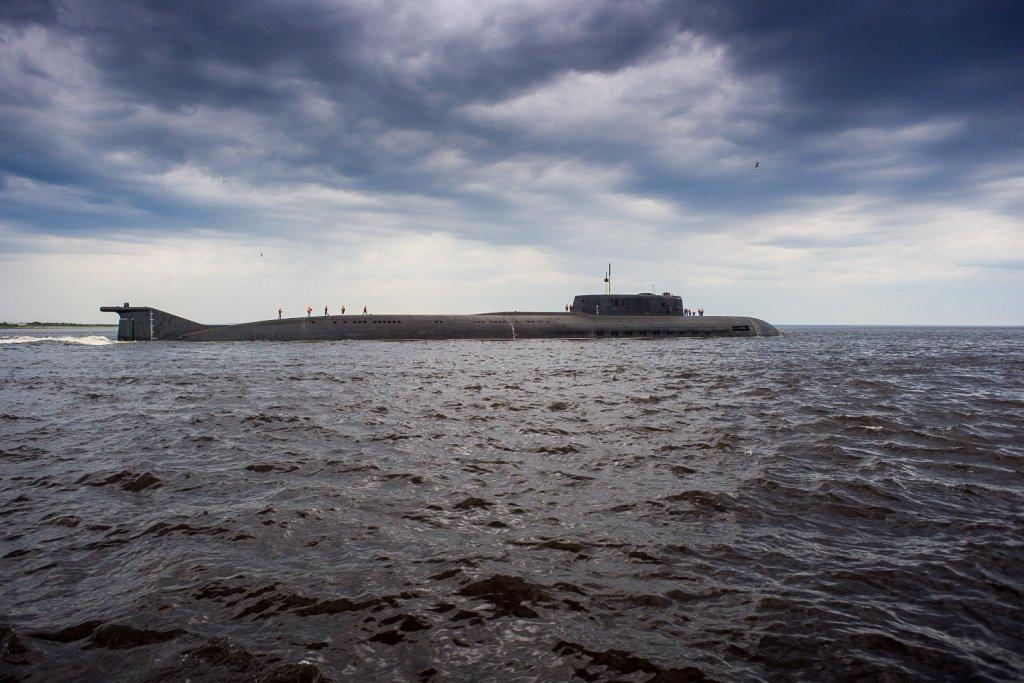 К-266 «Орел», атомная подводная лодка проекта 949А «Антей», в акватории Финского залива  #Минобороны #ПодводныеЛодки #ВМФ #ВВТ #ГВМП