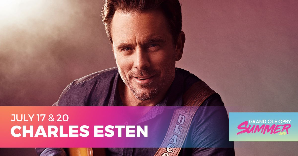 Who's ready for a double-dose of @CharlesEsten on the #Opry this week?! ✋  Get your tickets 👉 https://t.co/jHak05w8JM