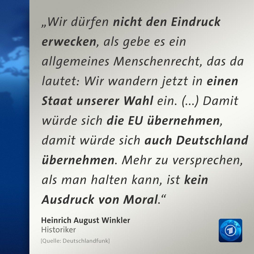 Zitat des Historikers Heinrich August Winkler