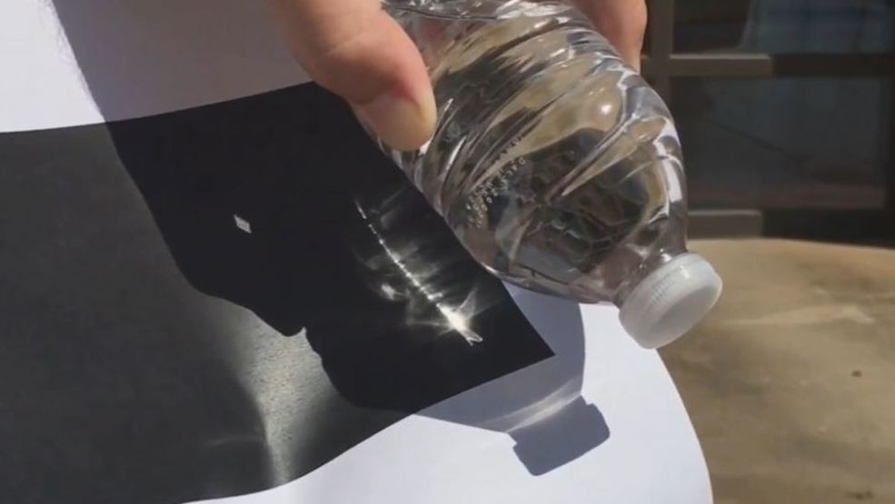 A lot of us are guilty of this: leaving water bottles in our cars. Some fire officials say it could start a fire. https://t.co/4K69R00v7Q