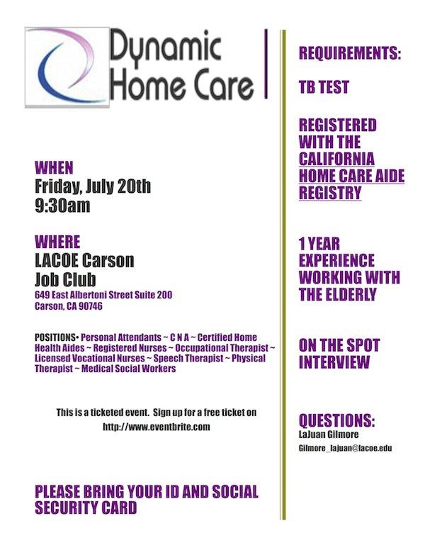 Home Made Diy Home Care Aide Registry