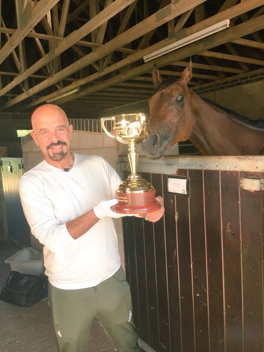 It's coming home, it's coming home, the Melbourne cup is coming home