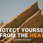 Image for the Tweet beginning: Heat advisory in effect for