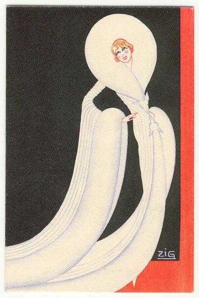 #glamourmonday A fashion illustration by Louis Gaudin, circa 1930. #artdeco #fashionillustration #illustration #glamour #artdeco