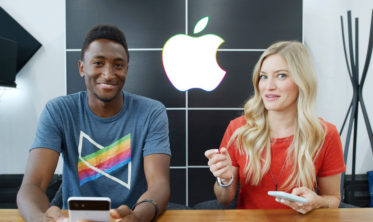 NEW VIDEO - Naming the new iPhone X? Ask MKBHD V30! youtu.be/nIs8xAr_nIo - RT!