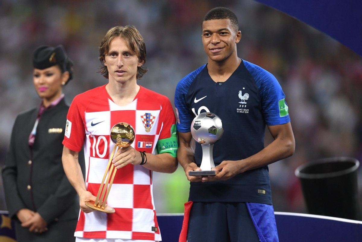 Best Young Player of the WorldCup ✅