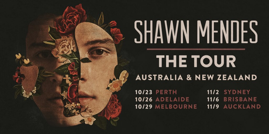 #ShawnMendesTheTour Australia & NZ dates announced! Presale & ticket info here https://t.co/qAZaGlclFv https://t.co/wUUvLuLqe6