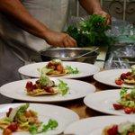 Image for the Tweet beginning: Our six-course Summer Vegetarian #ThursdayDinner