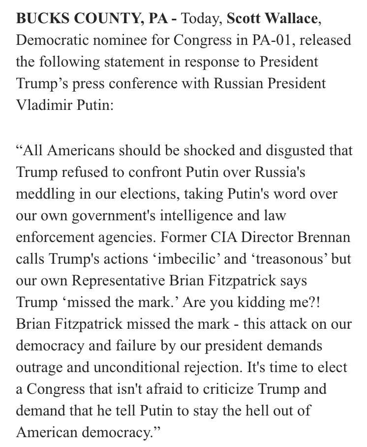 Henry Wallace's grandson is denouncing the president for bowing to Russia, is where we're at https://t.co/zUzlzppI2p