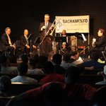 Image for the Tweet beginning: The @SacPhilOpera's Brass Quintet takes