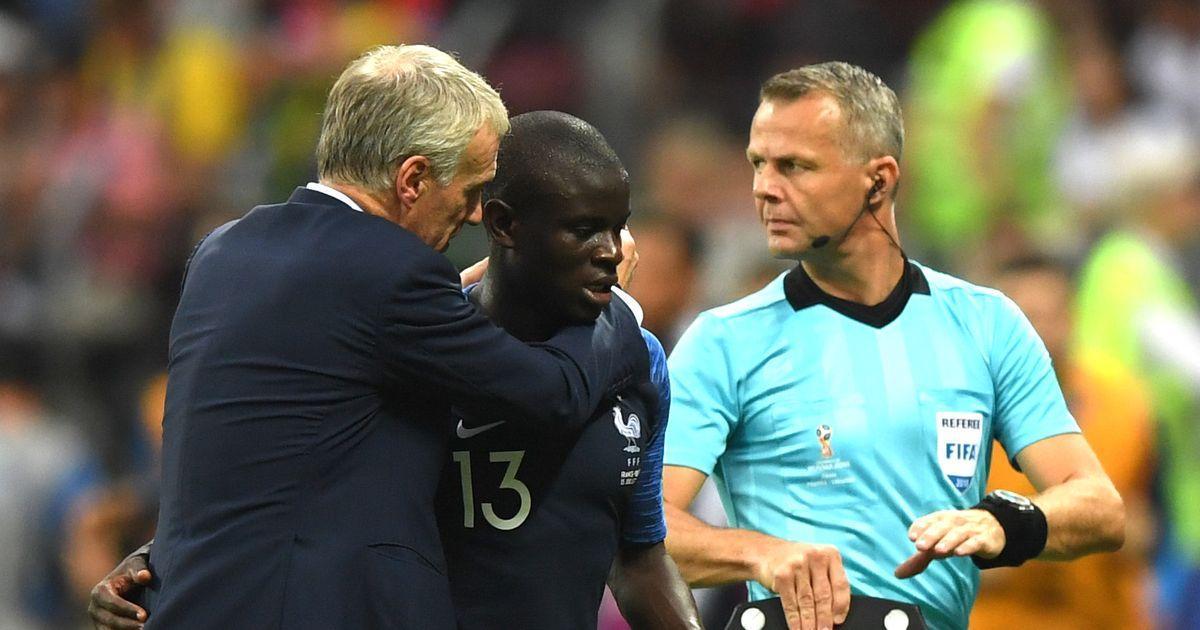 Deshalb konnte #Kante im WM-Finale nicht glänzen #WM2018 #FRACRO https://t.co/S0iYGY9dZJ