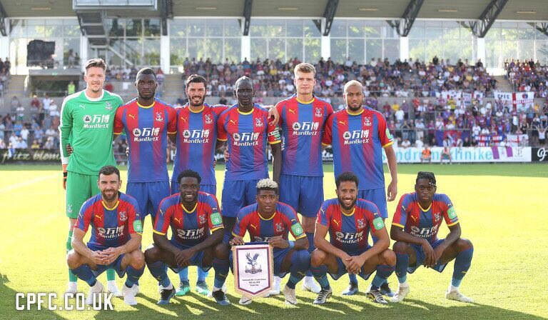 Great match today ! 💪🏾⚽️✨🔴🔵 @CPFC #CPFCFamily