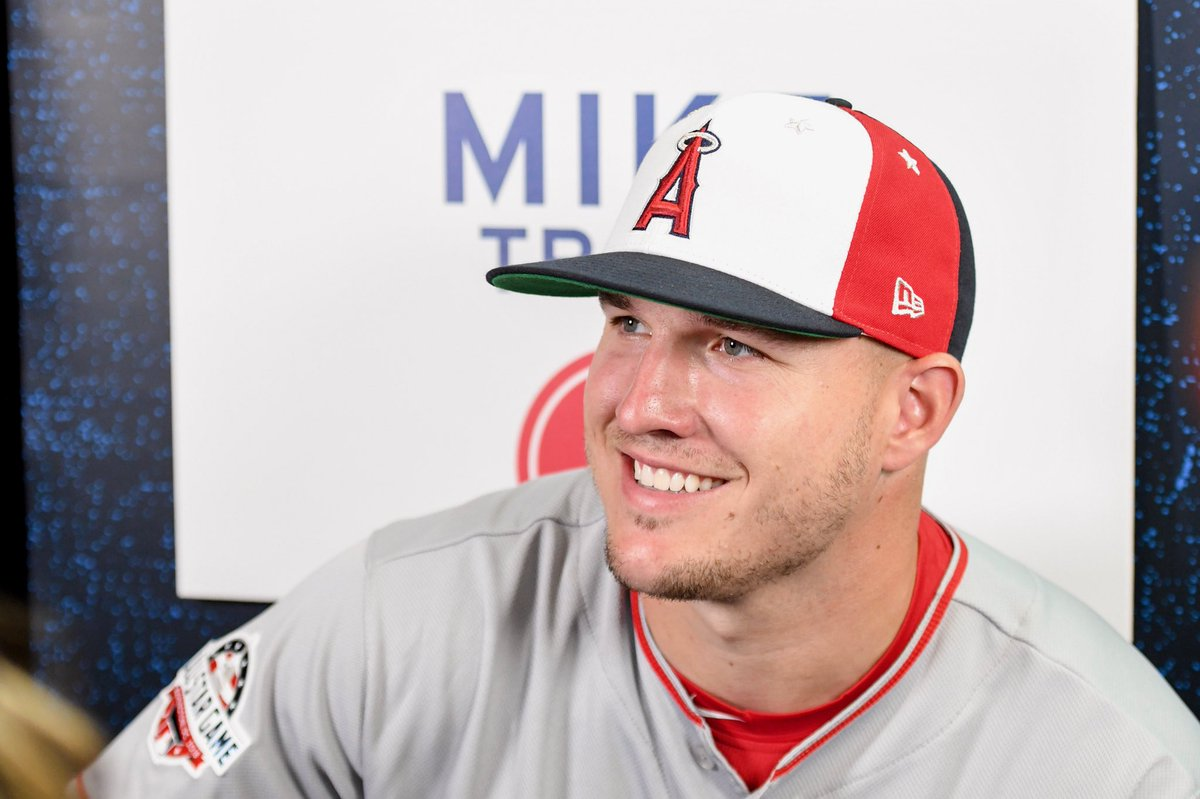 *RETWEET* if you think @MikeTrout will be the #AllStarGame MVP tomorrow | @Angels @MLBONFOX  @AllStarGame