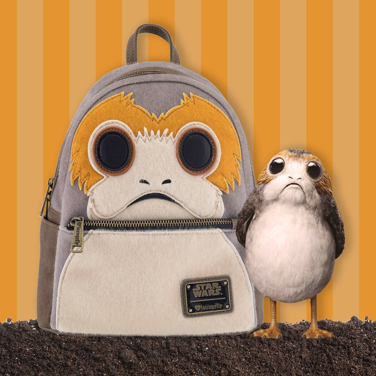 Find this @StarWars Porg mini backpack at our #SDCC2018 booth #5346! #LoungeflySDCC<br>http://pic.twitter.com/uS0074Nhsi