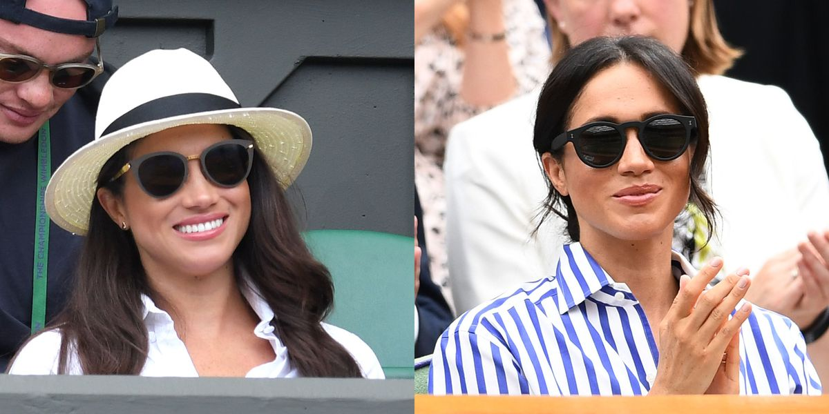 Meghan Markle's Wimbledon Style Before and After Becoming a Royal, Compared https://t.co/U7cgLoej85