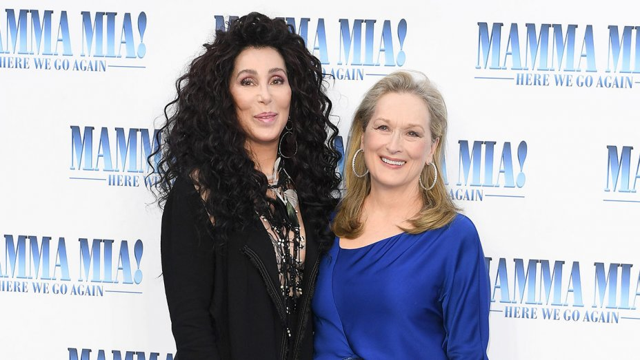 #MammaMia2 cast hails new arrival Cher at world premiere in London https://t.co/YK6IaSFyqa https://t.co/dS7zv3kp0X