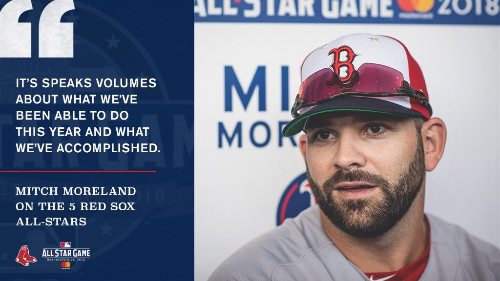 There are a lot of #RedSox in D.C. this week!