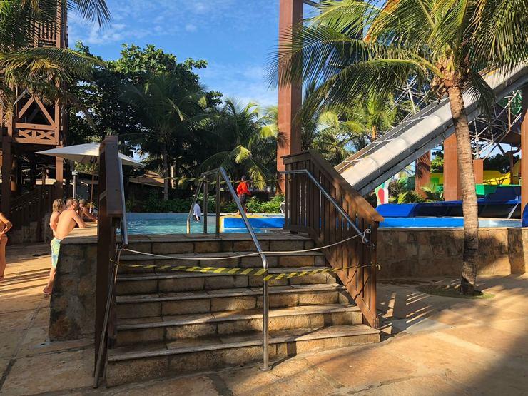 Um homem morre em uma das atrações do Beach Park Entretenimento, parque aquático em Aquiraz, em Fortaleza. A vítima é o locutor Ricardo Hill, de 43 anos, que já passou por rádios da capital e do interior paulista, incluindo a Band FM Sorocaba. Foto: Jornal O Povo