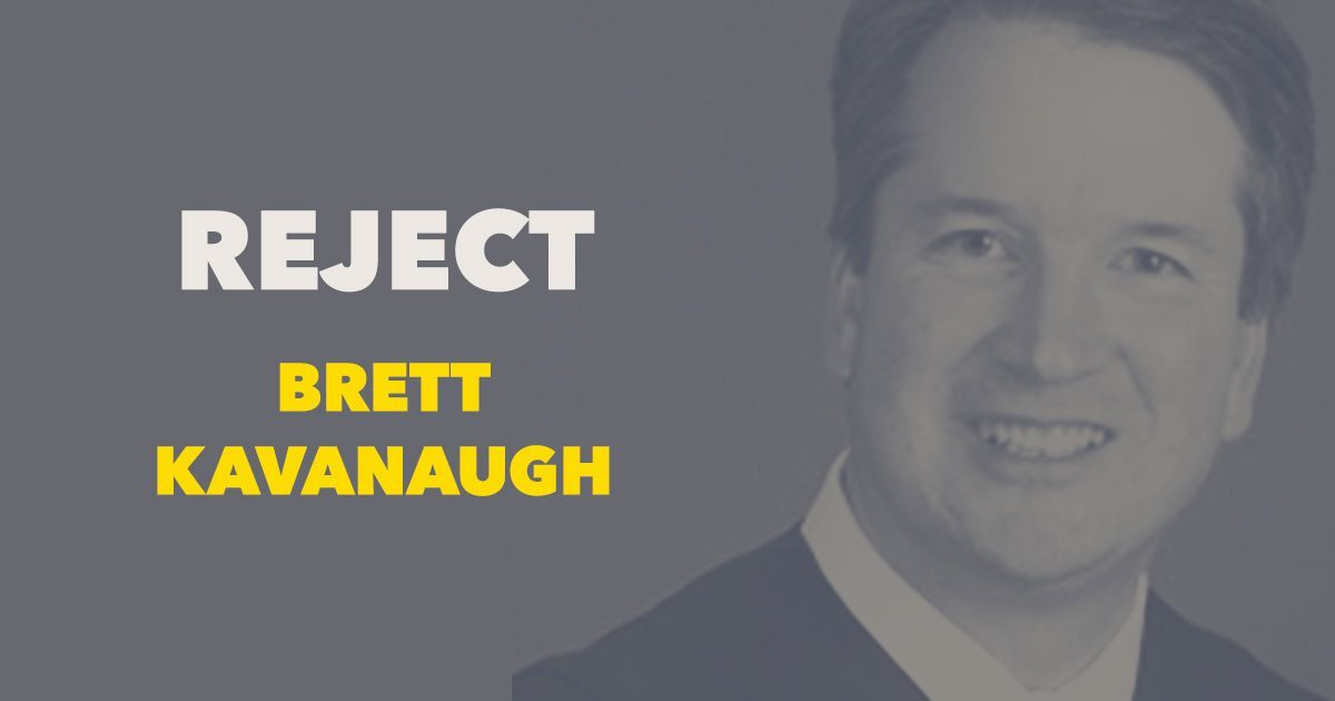 Brett Kavanaugh is no moderate — and if he is confirmed to #SCOTUS, the right to access safe, legal abortion will be on the line. Take action to #StopKavanaugh: https://t.co/Jx5OiGJLrv