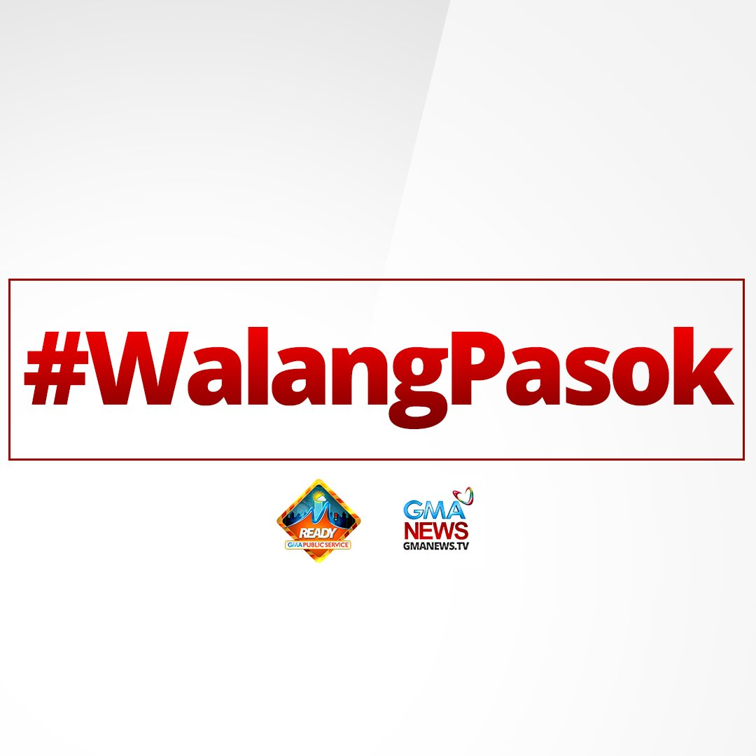 MANILA —Classes in all levels are suspended Tuesday, July 17, 2018, due to inclement weather. #WalangPasok | via