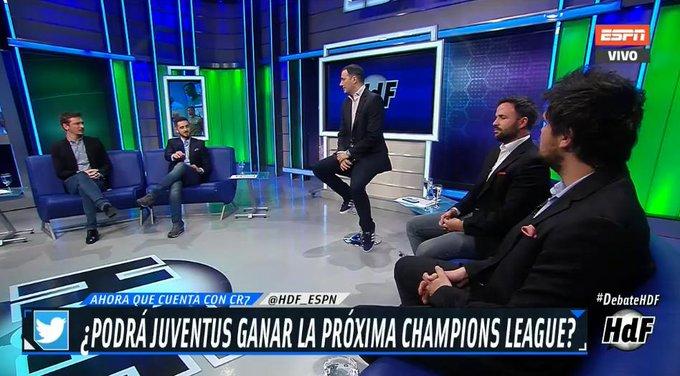 Ya con Cristiano Ronaldo entre sus filas, ¿podrá Juventus quedarse con la #CHAMPIONSxESPN? ¡Opina y mira #DebateHDF por la pantalla de ESPN 2! Foto