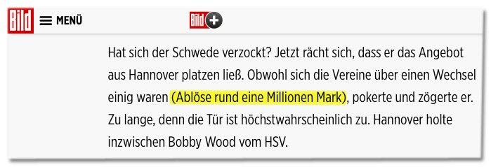 Hallo @BILD.de, weil's bei Euch offenbar noch nicht angekommen ist: In Deutschland wird seit einiger Zeit in Euro bezahlt. (Danke an @swagala_!)