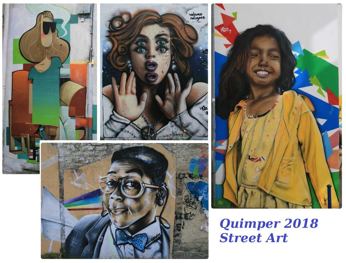 #Quimper | #StreetArt | #BretagneQuelques oeuvres vues lors de mon week-end quimpérois (2/2)  - FestivalFocus