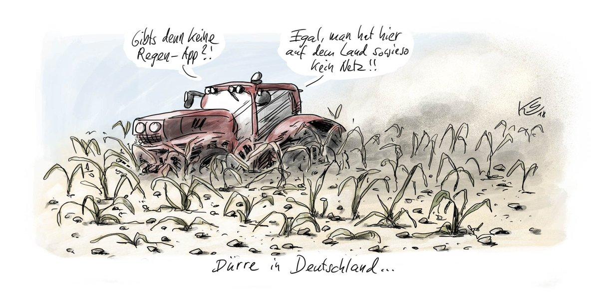 Dürre in Deutschland. Analog und digital. Mehr von #Stuttmann: https://t.co/K1J5NuNnkF