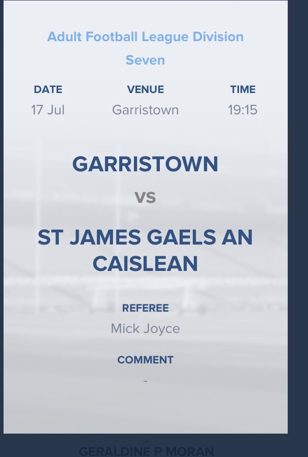 Date for your Diarys. Easter Camp 2020 - Garristown Gfc Page