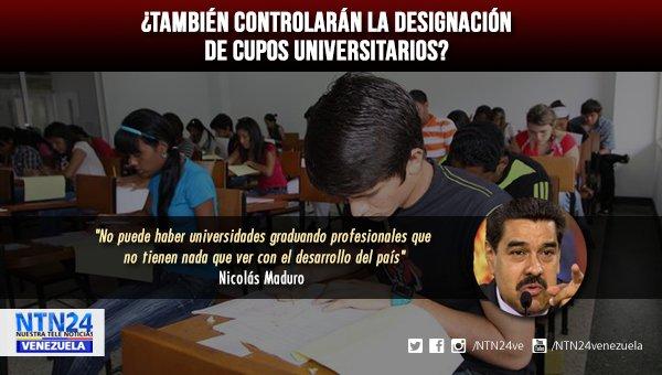 Maduro en contra de carreras universitarias que no sumen al 'desarrollo' https://t.co/meyKKyxpe1