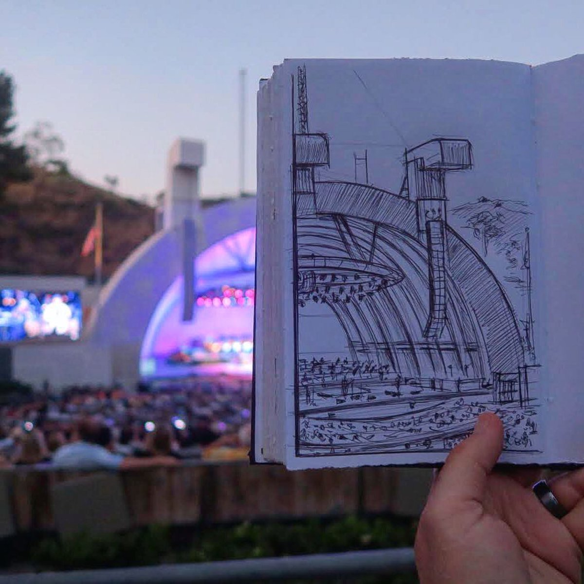 Hollywood Bowl On Twitter What S Your Favorite Form Of Artistic Expression Pizzashoe Draws On Instagram