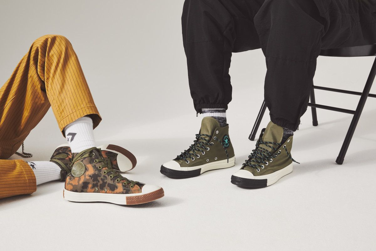 33647c2c7846 converse dresses the chuck taylor high in cordura