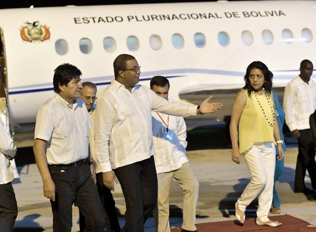 Arribó a La Habana Evo Morales para asistir a Foro de Sao Paulo