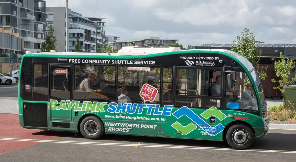 Billbergia will be funding additional Baylink Shuttle buses with bigger capacity in Wentworth Point and Rhodes as part of their waterfront development. https://t.co/Xqn6LT5j6B #rhodes #wentworthpoint #vpa #CommunityEngagement #Billbergia