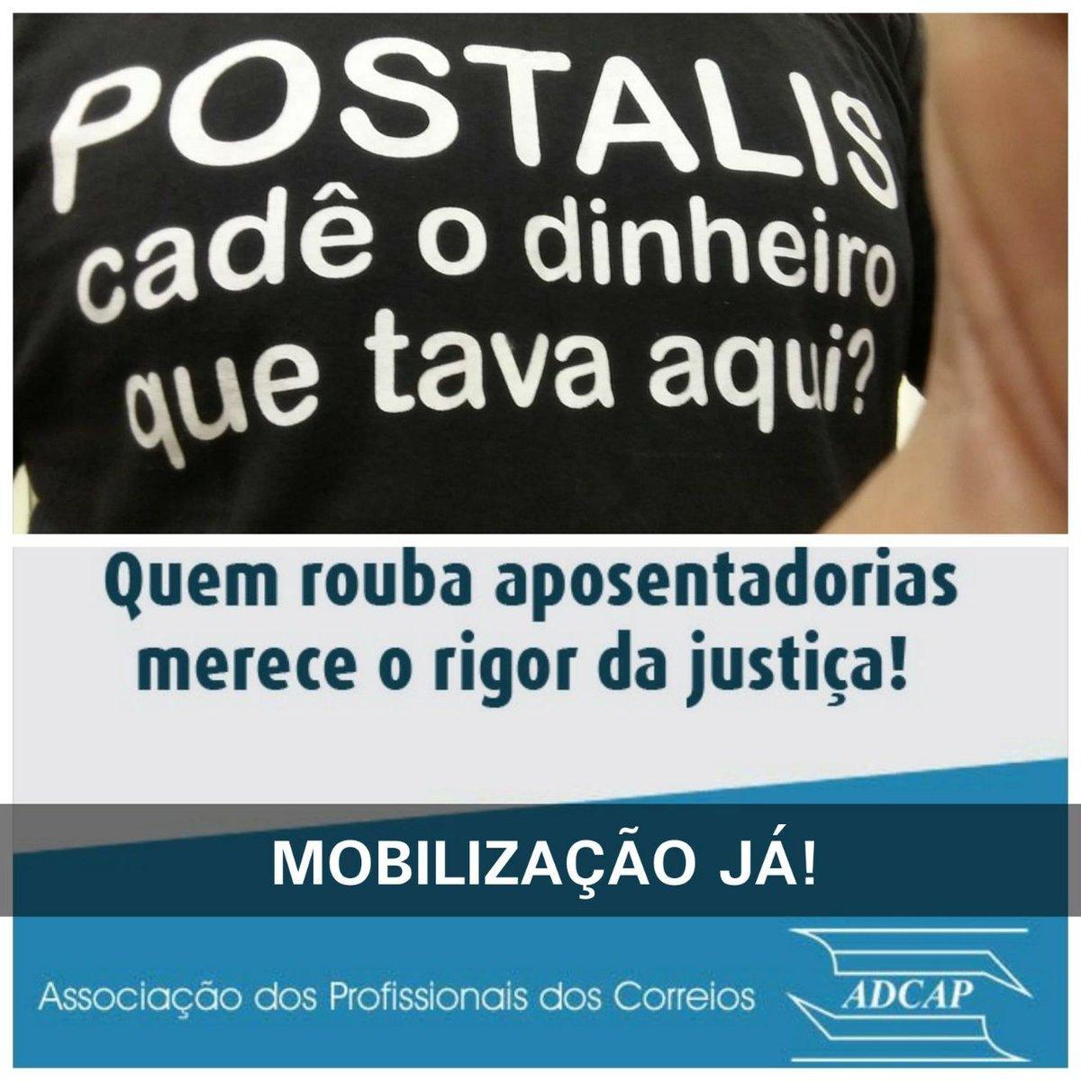 Trabalhadores dos Correios organizam protesto contra situação do Postalis https://t.co/cE4CUdi56K