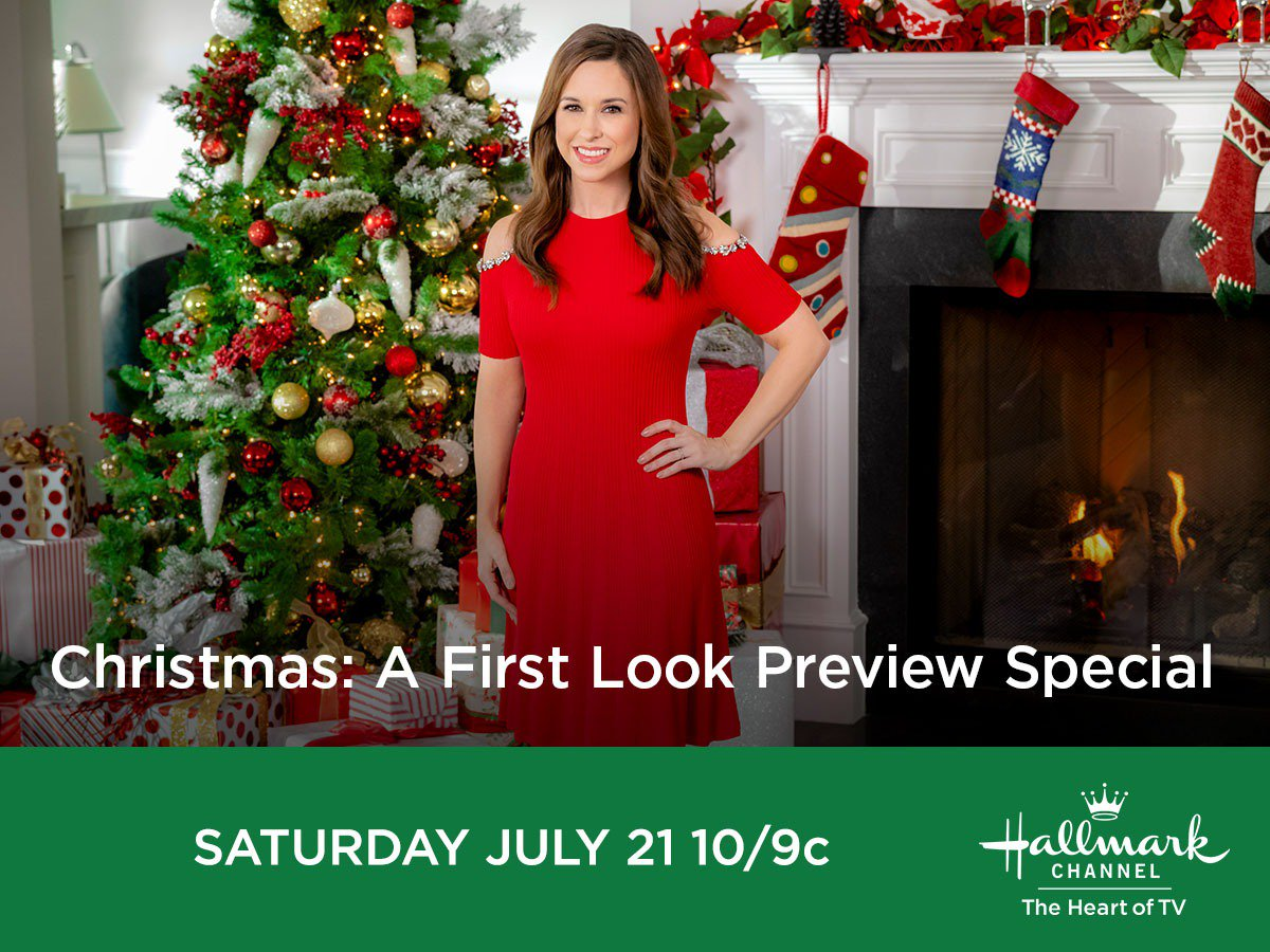 Hallmark Christmas In July Logo.Hallmark Channel A Twitter Are Those Jingle Bells We Hear