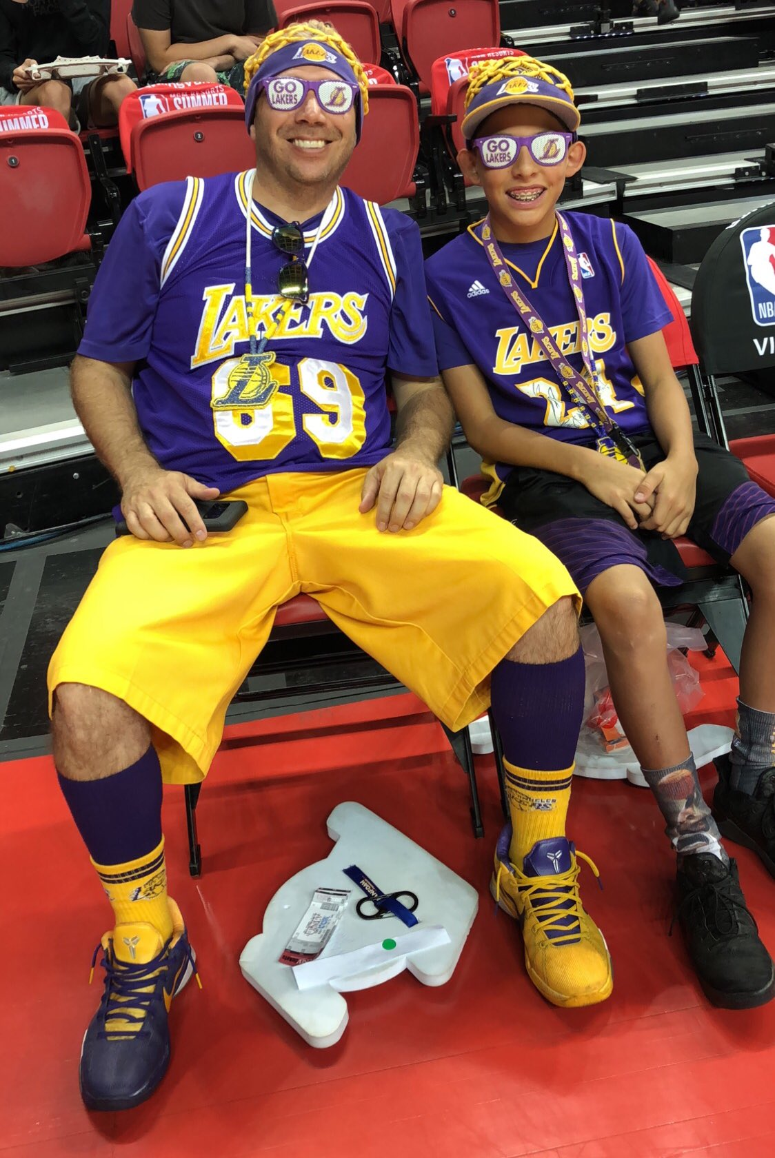 Laker nation is ready. #NBASummer https://t.co/jDwFjSZ2p0
