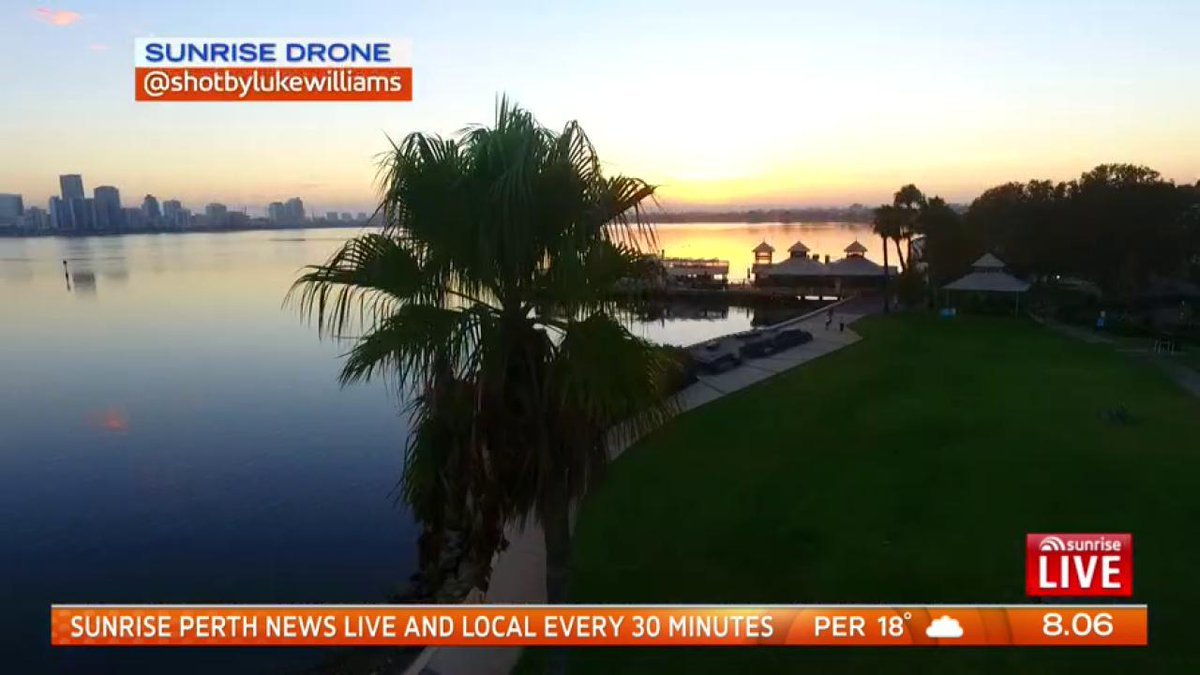 Image for the Tweet beginning: Cloudy 19 in Perth. Enjoy
