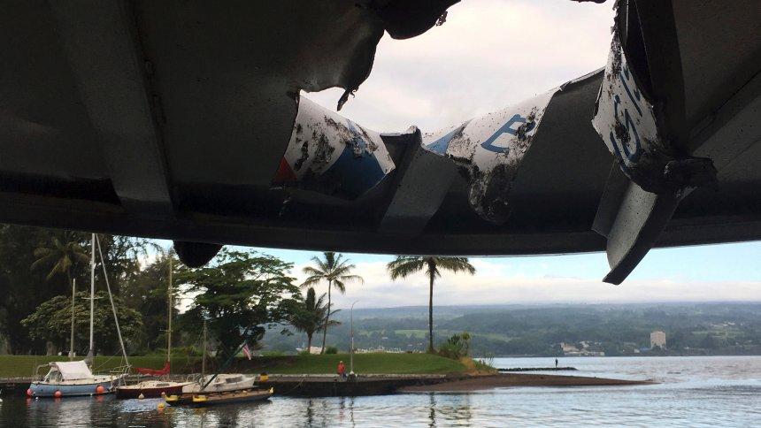 Hawaii: Ausflugsboot von Lava getroffen - 23 Verletzte https://t.co/saGa1YeQqN