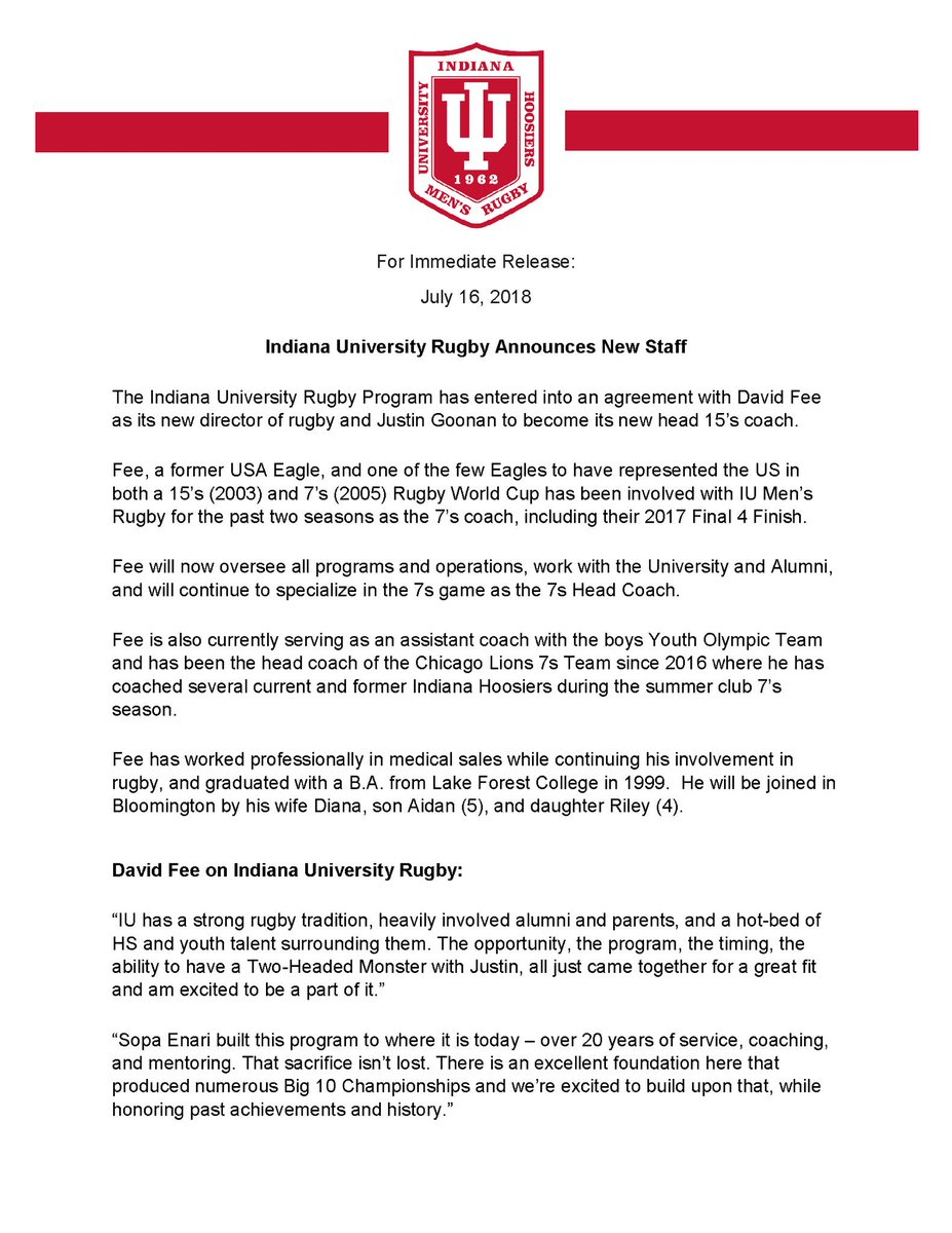 Indiana Hoosiers Rugby Iurugby Twitter